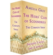 The Heirs' Club of Scoundrels - The Duke in My Bed; The Earl Claims a Bride; Wedding Night with the Earl; The Duke and Miss Christmas; Mistletoe, Mischief, and the Marquis ebook by Amelia Grey