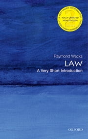Law: A Very Short Introduction ebook by Raymond Wacks