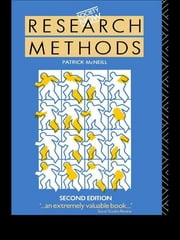 Research Methods ebook by Patrick McNeill