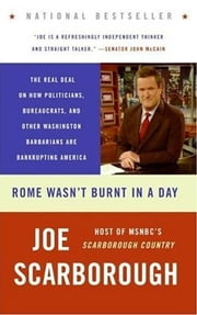 Rome Wasn't Burnt in a Day ebook by Joe Scarborough