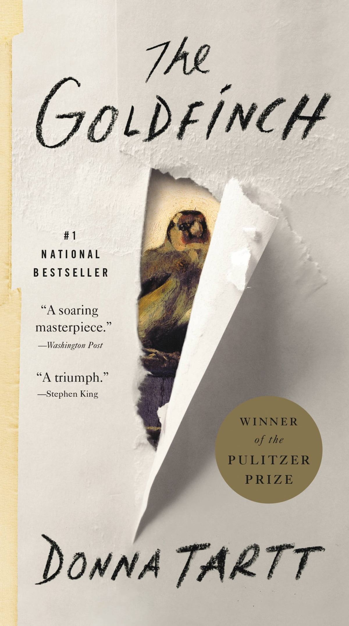 The Goldfinch  A Novel (pulitzer Prize For Fiction) Ebook By Donna Tartt
