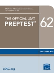 The Official LSAT PrepTest 62 - (Dec 2010) ebook by Law School Admission Council