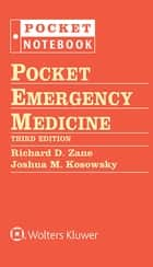 Pocket Emergency Medicine ebook by Richard D. Zane