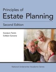 Principles of Estate Planning ebook by Carolynn Tomin, CFP,Colleen Carcone, JD, CFP