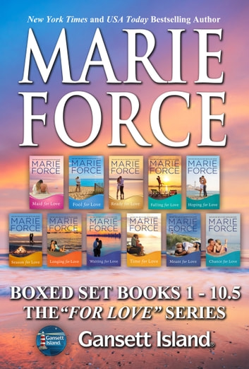Gansett Island Boxed Set Books 1- 10.5 ebook by Marie Force