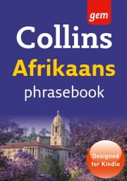Collins Gem Afrikaans Phrasebook and Dictionary (Collins Gem) ebook by Collins Dictionaries