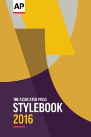 The Associated Press Stylebook 2016 ebook by Kobo.Web.Store.Products.Fields.ContributorFieldViewModel