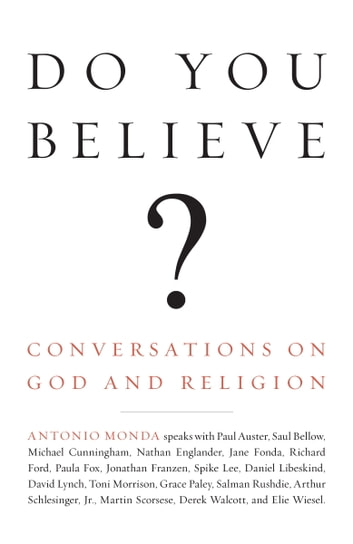 Do You Believe? ebook by Antonio Monda