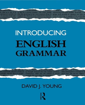 Introducing english grammar ebook by david j young 9781134897575 introducing english grammar ebook by david j young fandeluxe Images