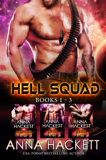 Hell Squad Set (Books 1-3) ebook by Anna Hackett