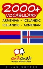 2000+ Vocabulary Armenian - Icelandic ebook by Gilad Soffer