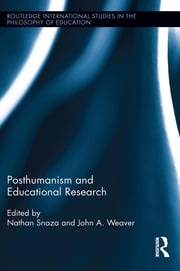 Posthumanism and Educational Research ebook by