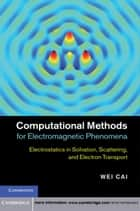 Computational Methods for Electromagnetic Phenomena ebook by Professor Wei Cai