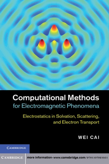 Computational Methods for Electromagnetic Phenomena - Electrostatics in Solvation, Scattering, and Electron Transport ebook by Professor Wei Cai