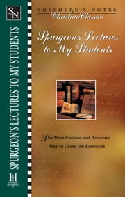 Shepherd's Notes: Lectures to My Students ebook by Albert Meredith,Charles  Haddon Spurgeon