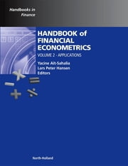 Handbook of Financial Econometrics - Applications ebook by