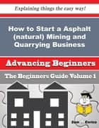 How to Start a Asphalt (natural) Mining and Quarrying Business (Beginners Guide) - How to Start a Asphalt (natural) Mining and Quarrying Business (Beginners Guide) ebook by Veda Etheridge
