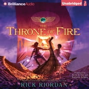 Throne of Fire, The audiobook by Rick Riordan
