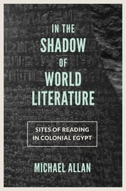 In the Shadow of World Literature - Sites of Reading in Colonial Egypt ebook by Michael Allan