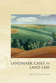 Landmark Cases in Land Law ebook by Nigel Gravells