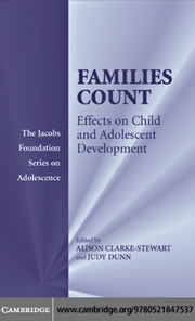 Families Count ebook by Clarke-Stewart, Alison