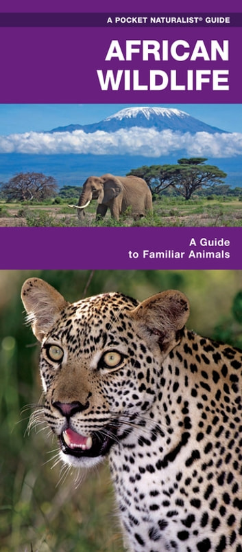 African Wildlife - A Folding Pocket Guide to Familiar Species ebook by James Kavanagh,Waterford Press