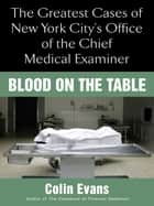 Blood On The Table ebook by Colin Evans