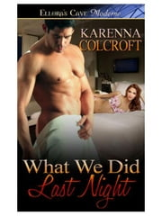 What We Did Last Night ebook by Karenna Colcroft