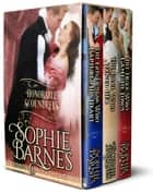 The Honorable Scoundrels Trilogy - The Honorable Scoundrels ebook by Sophie Barnes