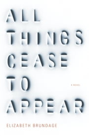 All Things Cease to Appear - A novel ebook by Elizabeth Brundage