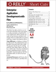 Agile Enterprise Application Development with Flex ebook by The EffectiveUI Team,Tony Hillerson
