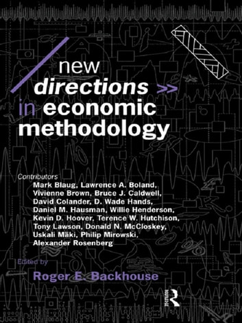 New Directions in Economic Methodology ebook by