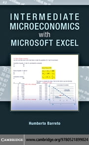 Intermediate Microeconomics with Microsoft Excel ebook by Barreto, Humberto