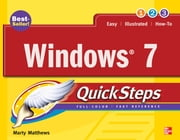 Windows 7 QuickSteps ebook by Marty Matthews