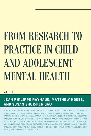 case studies in child and adolescent mental health More than 4 million american children and adolescents have a mental illness, and a study from the university of california, san francisco shows mental health hospitalizations among this.