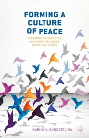 Forming a Culture of Peace - Reframing Narratives of Intergroup Relations, Equity, and Justice ebook by K. Korostelina