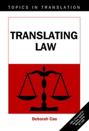 Translating Law ebook by Kobo.Web.Store.Products.Fields.ContributorFieldViewModel