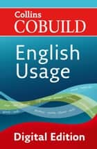 English Usage (Collins Cobuild) ebook by Collins Cobuild