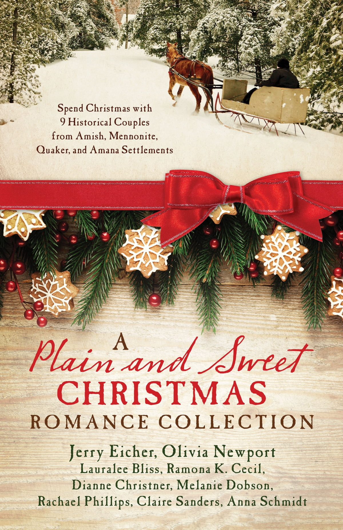 A Plain and Sweet Christmas Romance Collection eBook by Lauralee ...