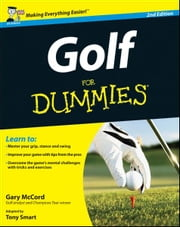 Golf For Dummies ebook by Tony Smart,Gary McCord
