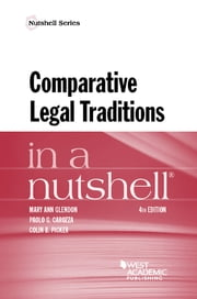 Comparative Legal Traditions in a Nutshell ebook by Mary Ann Glendon,Paolo Carozza,Colin Picker