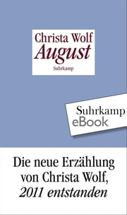 August ebook by Christa Wolf