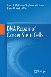 DNA Repair of Cancer Stem Cells ebook by Lesley A Mathews,Stephanie M Cabarcas,Elaine Hurt