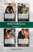 Historical Box Set 1-4/A Marquess, a Miss and a Mystery/Unbuttoning Miss Matilda/Captivated by Her Convenient Husband/Mrs Sommersby's Secon ebook by Lucy Ashford, Annie Burrows, Bronwyn Scott,...