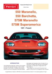 Ferrari 550/575/Barchetta (1997-2003) Buyers' Guide ebook by Mellor, Chris