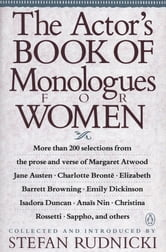 The Actor's Book of Monologues for Women ebook by Various