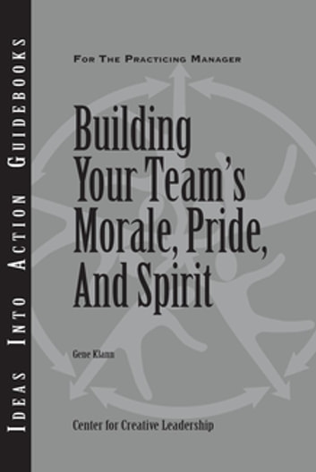 Building Your Team's Moral, Pride, and Spirit ebook by Klann
