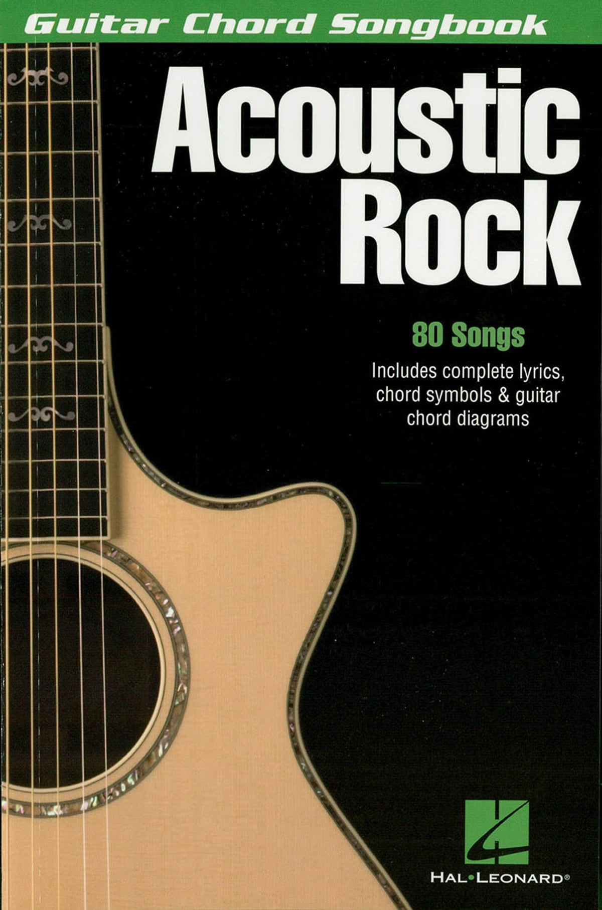 Acoustic Rock Guitar Chord Songbook Ebook By Hal Leonard Corp