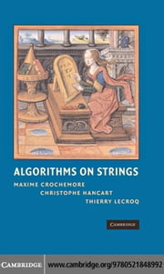 Algorithms on Strings ebook by Crochemore,Maxime