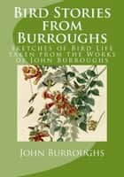 Bird Stories from Burroughs (Illustrated) - Sketches of Bird Life taken from the Works of John Burroughs ebook by John Burroughs